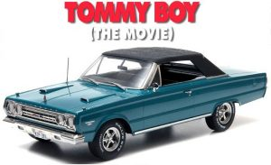 1967 Plymouth Belvedere GTX Convertible from Tommy Boy (1995) - Artisan Collection at diecastdepot