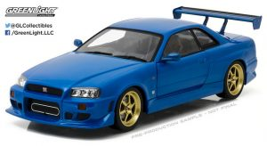 1999 Nissan Skyline GT-R  in Bayside Blue - Artisan Collection at diecastdepot