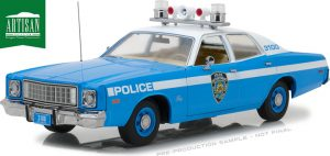 1975 Plymouth Fury New York City Police Department (NYPD) at diecastdepot