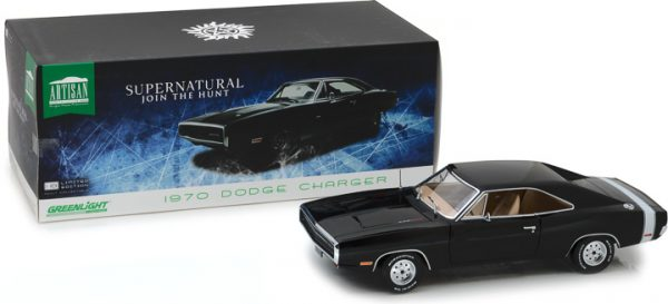 1970 Dodge Charger -Artisan Collection - Supernatural (2005-Current TV Series) - at diecastdepot