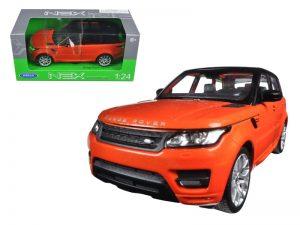 2015 Range Rover Land Rover Sport - Orange at diecastdepot