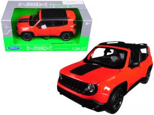 Jeep Renegade Trailhawk - Orange at diecastdepot