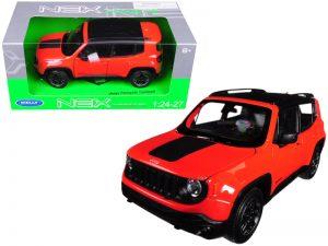 Jeep Renegade Trailhawk - Orange at diecastdepot