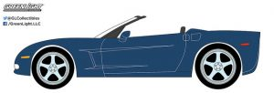 2013 Chevrolet Corvette Convertible in Night Race Blue - General Motors Collection Series 2 at diecastdepot