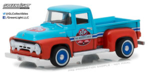 1954 Ford F100 Pick Up Truck STP 65th Anniversary - Anniversary Collection Series 6 at diecastdepot