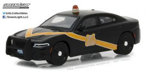 2016 Dodge Charger Policer - Michigan State Police - 100th Anniversary Patrol Car at diecastdepot