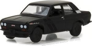 1968 Datsun 510- Black Bandit Series 19 at diecastdepot