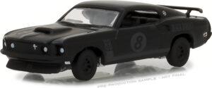 1969 Ford Mustang Black Bandit Trans Am Racing Team- Black Bandit Series 19 at diecastdepot