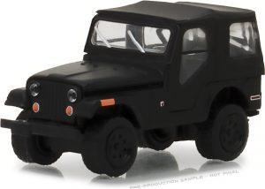 1970 Jeep CJ-5 - Black Bandit Series 19 - at diecastdepot