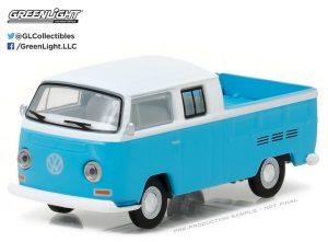 1968 Volkswagen T2 Type 2 Crew Cab Pickup at diecastdepot