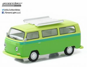 1969 Volkswagen T2 Type 2 with Rood Rack at diecastdepot