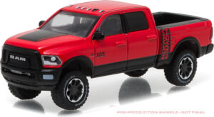 2017 Ram 2500 Power Wagon - Flame Red with Black (Hobby Exclusive) at diecastdepot