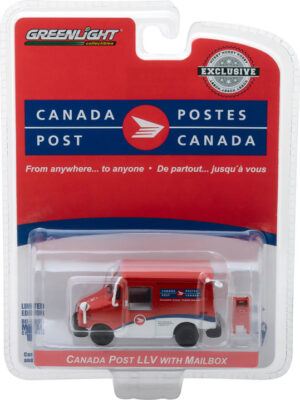 Canada Post Long-Life Postal Delivery Vehicle (LLV) with Mailbox Accessory at diecastdepot