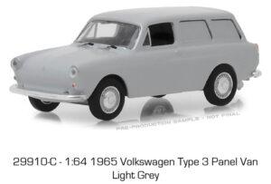 1965 Volkswagen Type-3 Squareback Panel in Light Gray - Estate Wagons Series 1 at diecastdepot