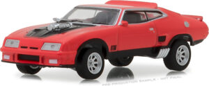 1973 Ford Falcon XB Custom - Red Pepper with Black Stripes at diecastdepot