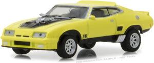 1973 Ford Falcon XB Custom - Yellow Blaze with Black Stripes at diecastdepot