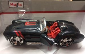 1965 FORD SHELBY COBRA 427 - ALL STARS SERIES BY MAISTO at diecastdepot