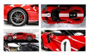 2017 Ford GT- Heritage- Limited Edition at diecastdepot