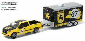 2015 FORD F-150 PICK UP TRUCK & TERLINGUA RACING TRAILER at diecastdepot