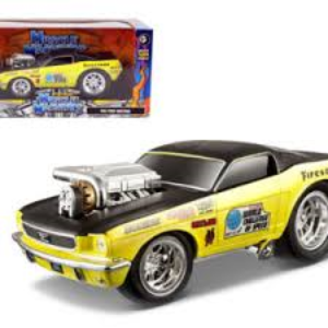 1966 Ford Mustang GT- Muscle Machine at diecastdepot