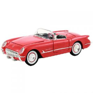 1953 CHEVY CORVETTE -RED at diecastdepot