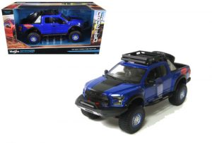 2017 Ford F150 Raptor (Off Road Kings) - Blue at diecastdepot