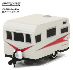 1959 SIESTA TRAVEL TRAILER - HITCHED HOMES SERIES 1 at diecastdepot