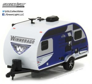 2016 WINNEBAGO WINNIE DROP 1710 (BLUE)-HITCHED HOMES SERIES 2 at diecastdepot