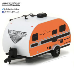2017 WINNEBAGO WINNIE DROP 1710 (ORANGE)-HITCHED HOMES SERIES 2 at diecastdepot
