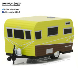 1958 Siesta Travel Trailer at diecastdepot