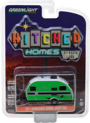 2017 Winnebago Winnie Drop - Green- Hitched Homes Series 4 - at diecastdepot