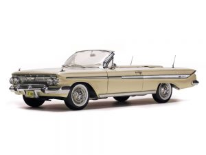 1961 Chevrolet Impala OPen Convertible at diecastdepot