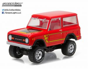 1977 FORD BRONCO - RED at diecastdepot