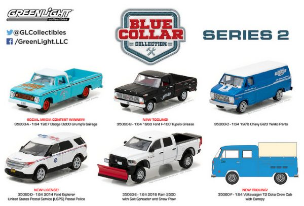 1968 FORD F-100 PICK UP TRUCK - BLUE COLLAR COLLECTION SERIES 2