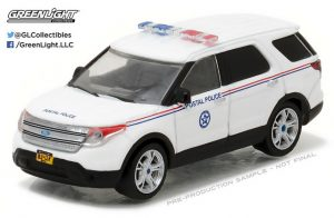 2014 FORD EXPLORER (USPS) POSTAL POLICE - BLUE COLLAR COLLECTION SERIES 2 at diecastdepot