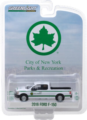 2016 Ford F-150 New York City Department of Parks & Recreation -Blue Collar Collection Series 4 at diecastdepot