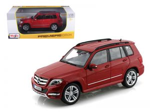Mercedes Benz GLK - Red at diecastdepot