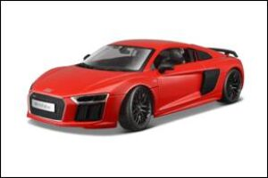 AUDI R8 V10 PLUS - RED at diecastdepot