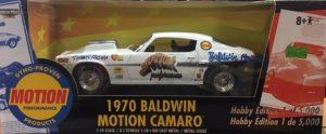 1970 Baldwin Motion Camaro  - Dennis Ferrara at diecastdepot