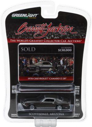 1970 Chevy Camaro Z/28 (Charity Car Benefiting Childhelp) Barrett-Jackson 'Scottsdale Edition' Series 2 at diecastdepot