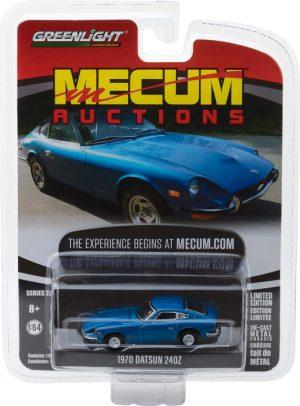 1970 Datsun 240Z - Blue (Seattle 2014)- Mecum Auctions Collector Cars Series 2 at diecastdepot