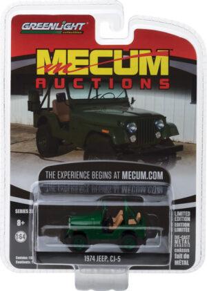 1974 Jeep CJ-5 - Green (Dallas 2017)  -Mecum Auctions Collector Cars Series 2 at diecastdepot