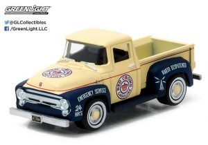1956 FORD F-100 PICK UP TRUCK - RUNNING ON EMPTY SERIES 1 at diecastdepot