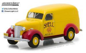 1939 Chevrolet Panel Truck -Shell Oil at diecastdepot