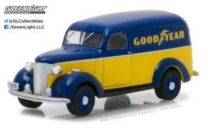 1939 Chevrolet Panel Truck - Goodyear Tires at diecastdepot