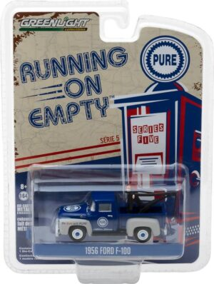 1956 Ford F-100 with Drop-in Tow Hook Pure Oil 'Be Sure With Pure' - Running on Empty Series 5 at diecastdepot