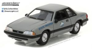 1991 Ford Mustang SSP - Kentucky State Police at diecastdepot