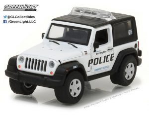2009 Jeep Wrangler - Burlington, Wisconsin Police at diecastdepot