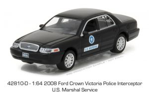 2008 Ford Crown Victoria -U.S. Marshal Service - HOT PURSUIT SERIES 24 at diecastdepot