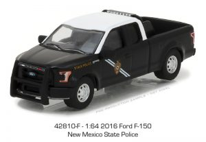 2016 Ford F-150 Pickup -New Mexico State Police - HOT PURSUIT SERIES 24 at diecastdepot